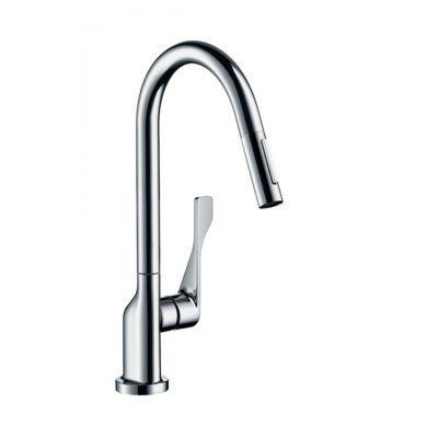 Axor Citterio 39835800 Edelstahl-Küchenarmatur