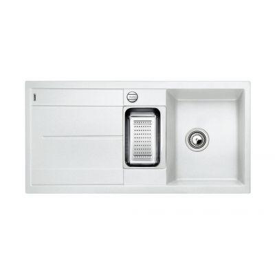 Blanco Tubo blanco fregadero 513046 granito 100x50 cm
